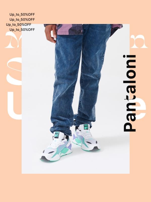 huge discount c7065 816e9 OUTLET - Pantaloni